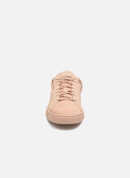 Baskets Puma Suede LunaLux Wn's Rose vue portées chaussures