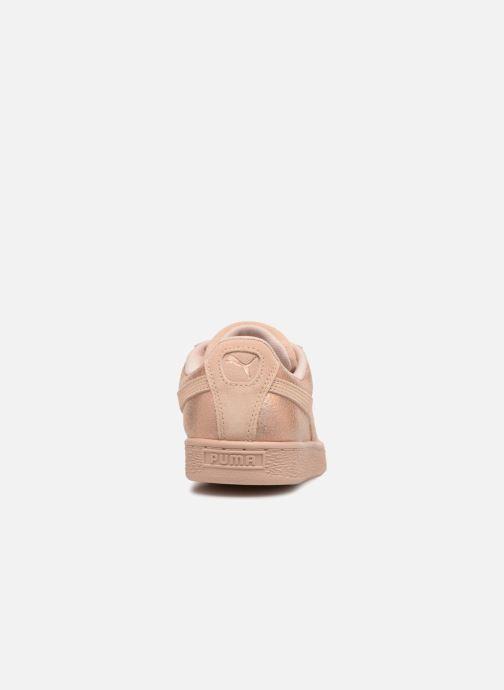 Sneakers Puma Suede LunaLux Wn's Rosa immagine destra