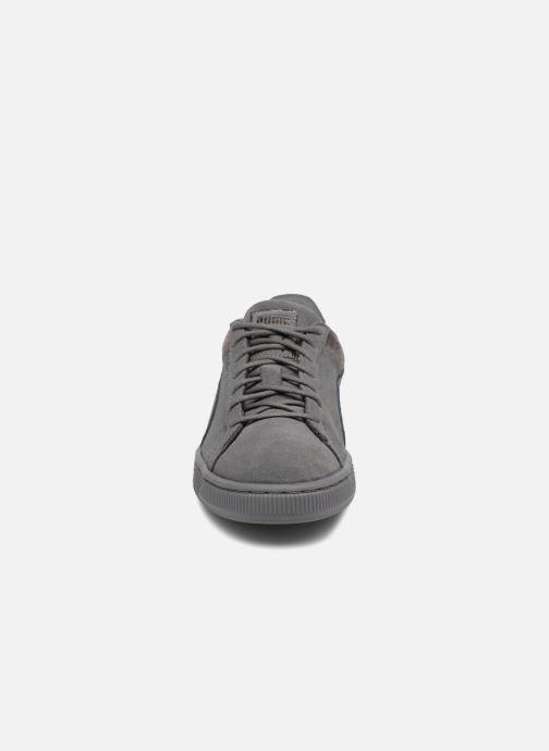 Baskets Puma Suede LunaLux Wn's Gris vue portées chaussures
