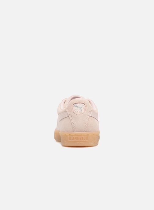 Baskets Puma Suede Classic Bubble Wn's Rose vue droite
