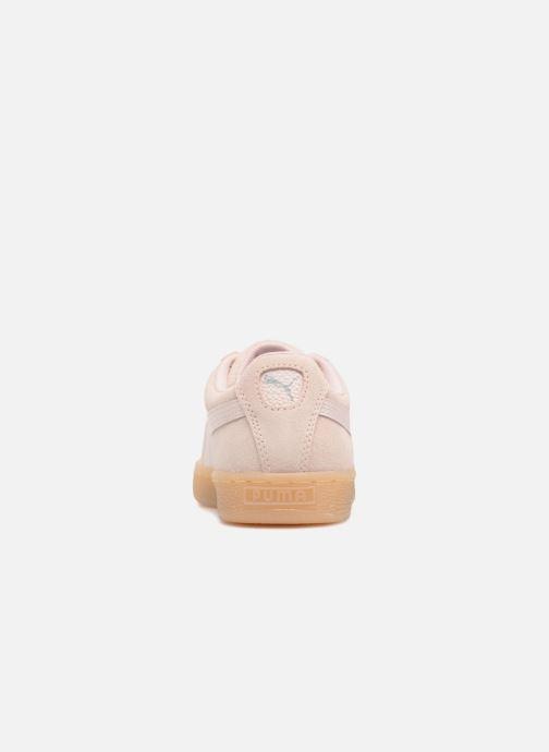 Baskets Puma Suede Classic Bubble Wn's Rose vue droite