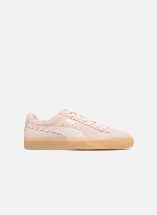 Baskets Puma Suede Classic Bubble Wn's Rose vue derrière