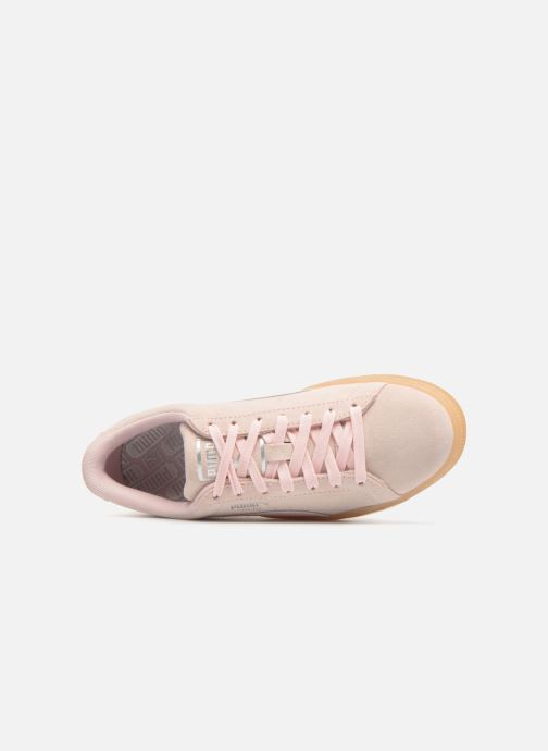Baskets Puma Suede Classic Bubble Wn's Rose vue gauche
