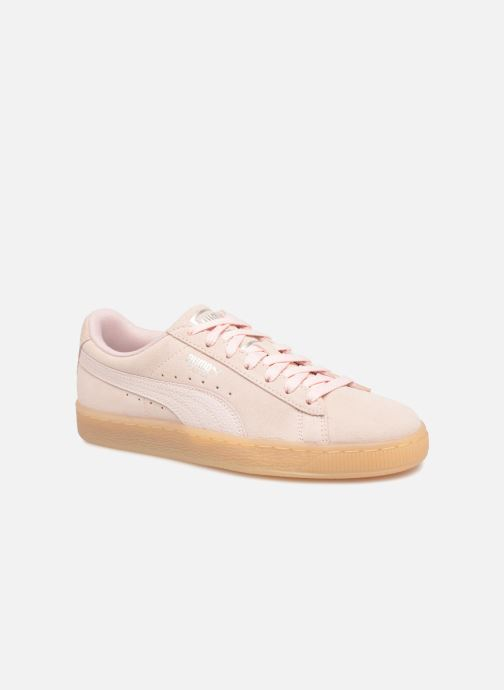Baskets Puma Suede Classic Bubble Wn's Rose vue détail/paire