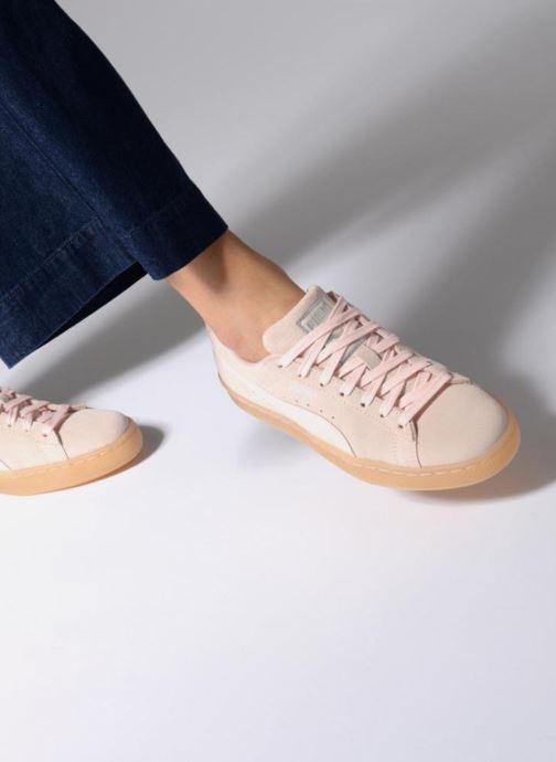 Sneakers Puma Suede Classic Bubble Wn's Nero immagine dal basso