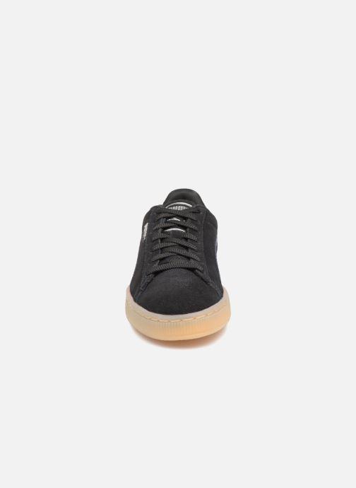 Sneakers Puma Suede Classic Bubble Wn's Nero modello indossato