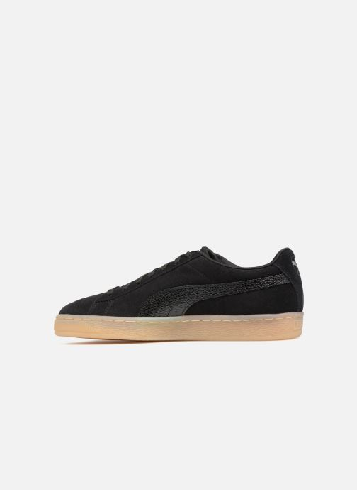 Trainers Puma Suede Classic Bubble Wn's Black front view