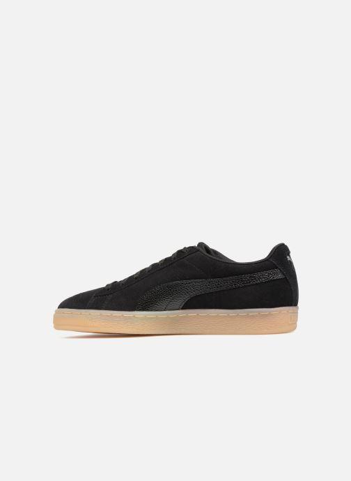 Sneaker Puma Suede Classic Bubble Wn's schwarz ansicht von vorne