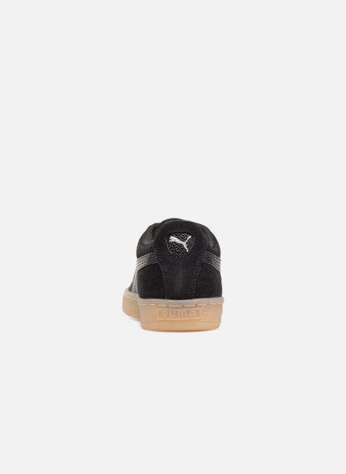 Trainers Puma Suede Classic Bubble Wn's Black view from the right