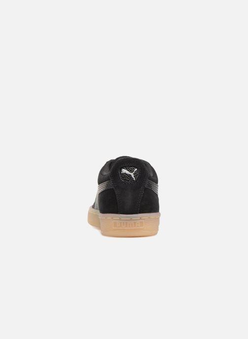 Sneaker Puma Suede Classic Bubble Wn's schwarz ansicht von rechts