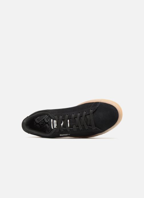 Trainers Puma Suede Classic Bubble Wn's Black view from the left