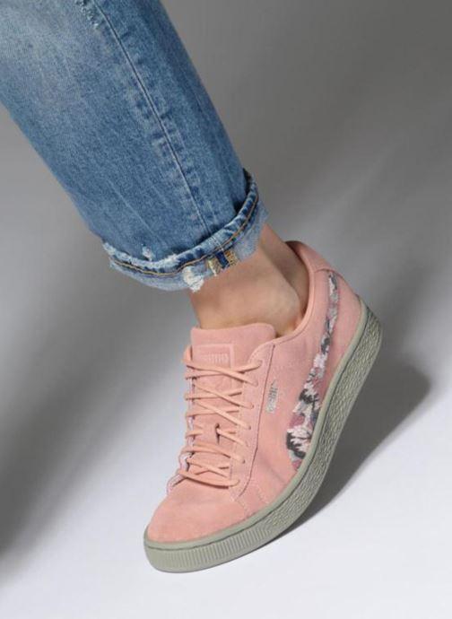 Sneakers Puma B Suede Sunfade Stitch Wn's Rosa immagine dal basso