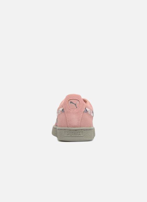 Sneakers Puma B Suede Sunfade Stitch Wn's Rosa immagine destra