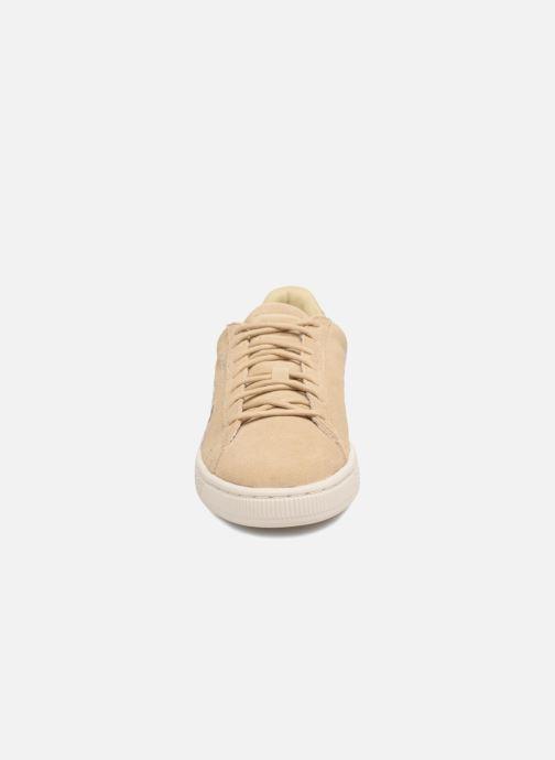 Baskets Puma B WN Suede IRREG. PEBBLE Beige vue portées chaussures