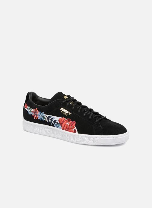 Baskets Puma Suede Hyper Embelished Wn's Noir vue détail/paire