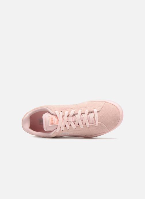 Puma Wns Baskets S Suede Pink Dogwood Silver puma WCrdxBoe