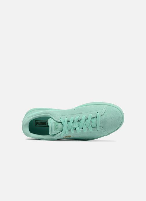 Sneakers Puma Suede S Wns Azzurro immagine sinistra