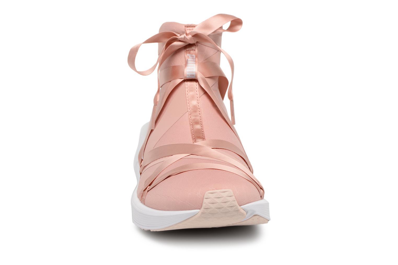 Chaussures de sport Puma Fierce Rope Satin EP Wn's Rose vue portées chaussures