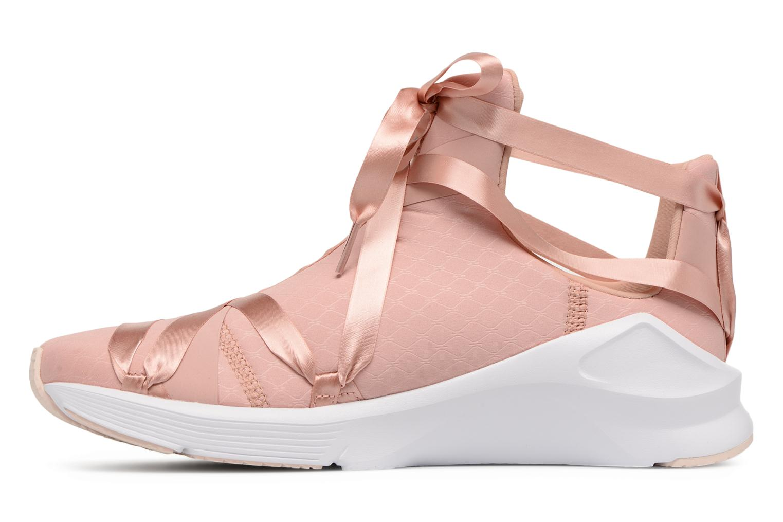 Chaussures de sport Puma Fierce Rope Satin EP Wn's Rose vue face