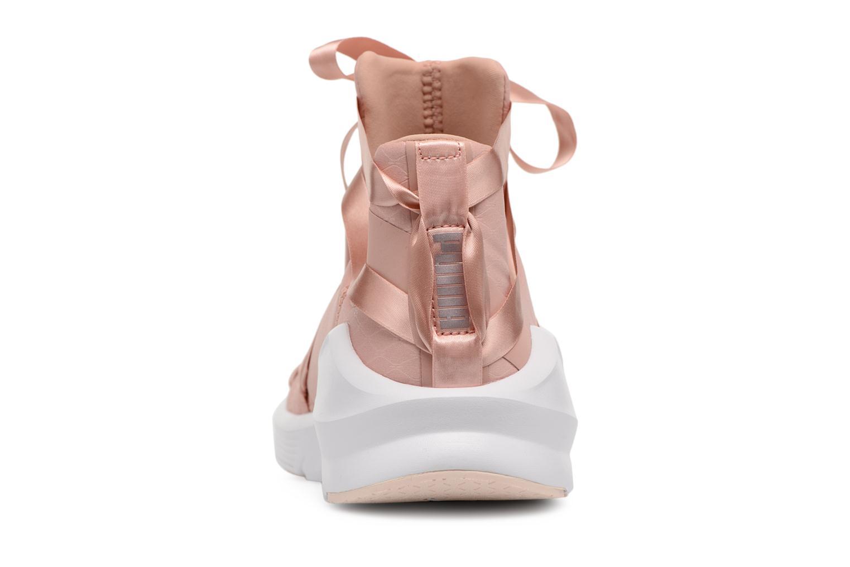 Chaussures de sport Puma Fierce Rope Satin EP Wn's Rose vue droite