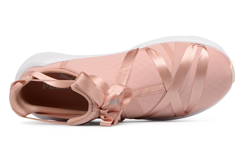Chaussures de sport Puma Fierce Rope Satin EP Wn's Rose vue gauche