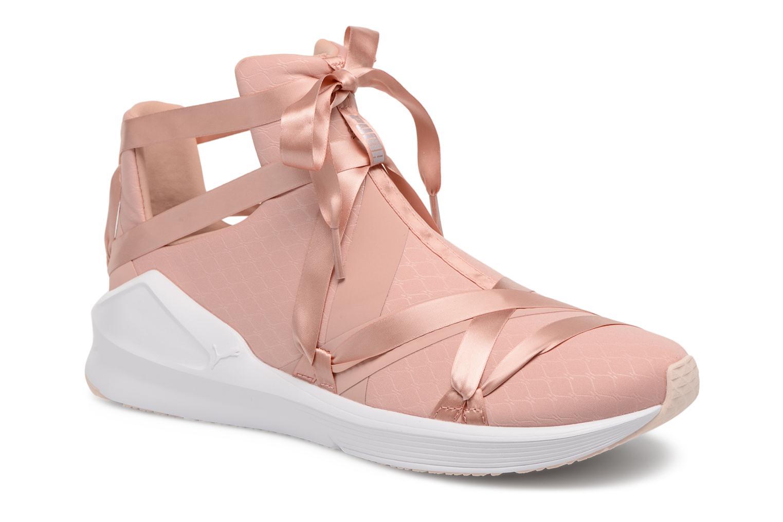 Chaussures de sport Puma Fierce Rope Satin EP Wn's Rose vue détail/paire