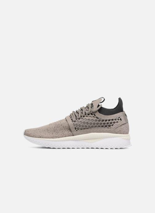 Sneaker Puma TSUGI NETFIT v2 evoKNIT grau ansicht von vorne