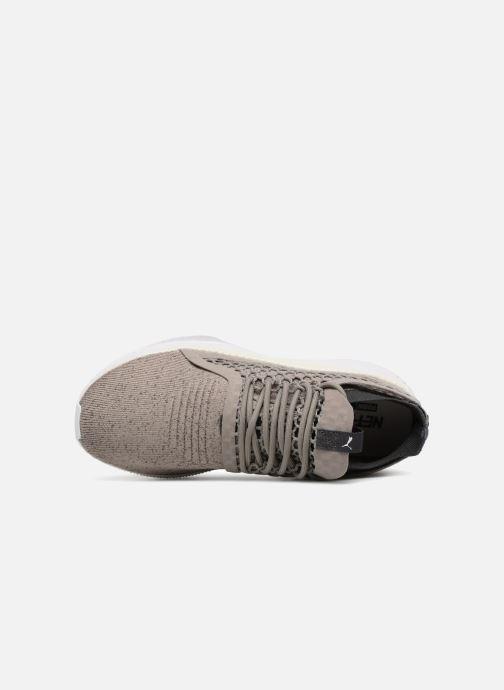 Sneaker Puma TSUGI NETFIT v2 evoKNIT grau ansicht von links