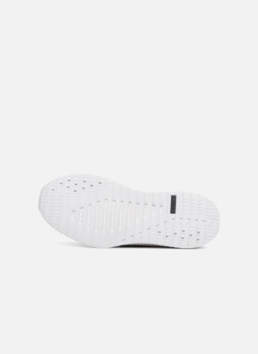 Sneaker Puma TSUGI NETFIT v2 evoKNIT grau ansicht von oben