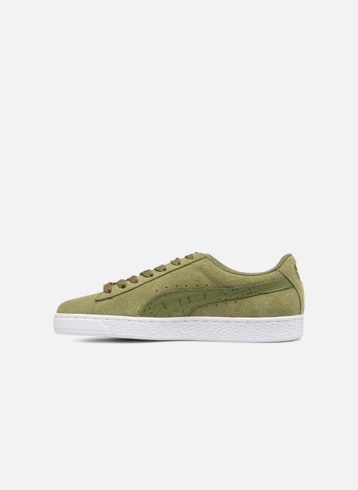 Sneakers Puma Suede Classic B-BOY Fabulous Grøn se forfra
