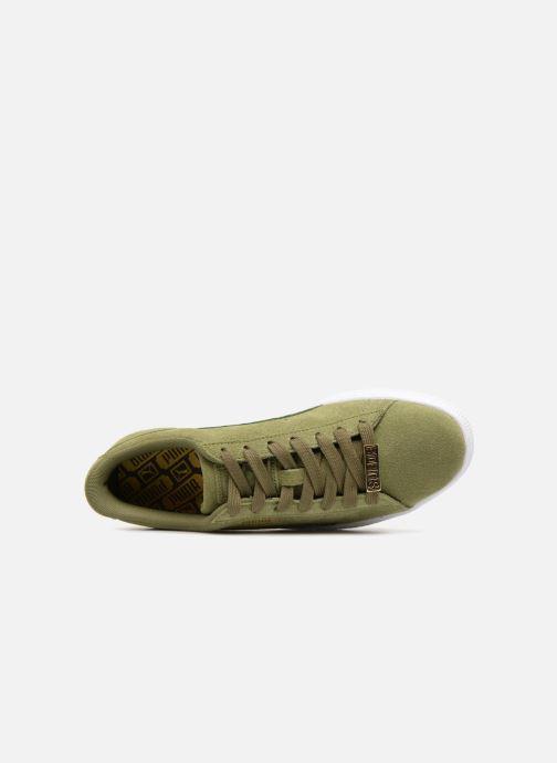 Sneakers Puma Suede Classic B-BOY Fabulous Grøn se fra venstre