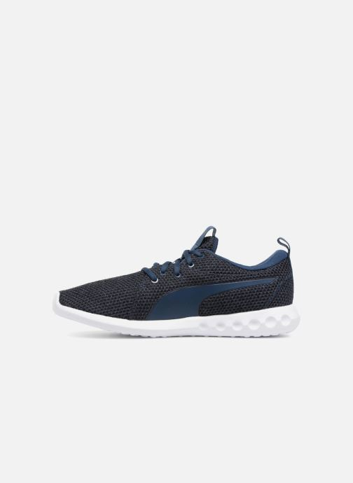 Trainers Puma Carson 2 Nature Knit Blue front view