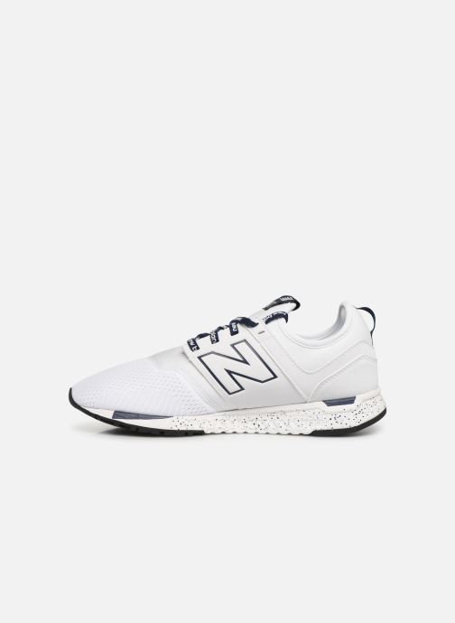 Trainers New Balance MRL247 D White front view