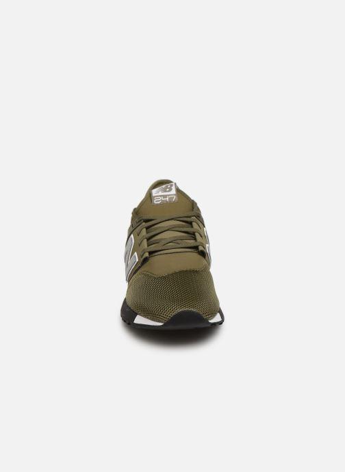 Baskets New Balance MRL247 D Vert vue portées chaussures