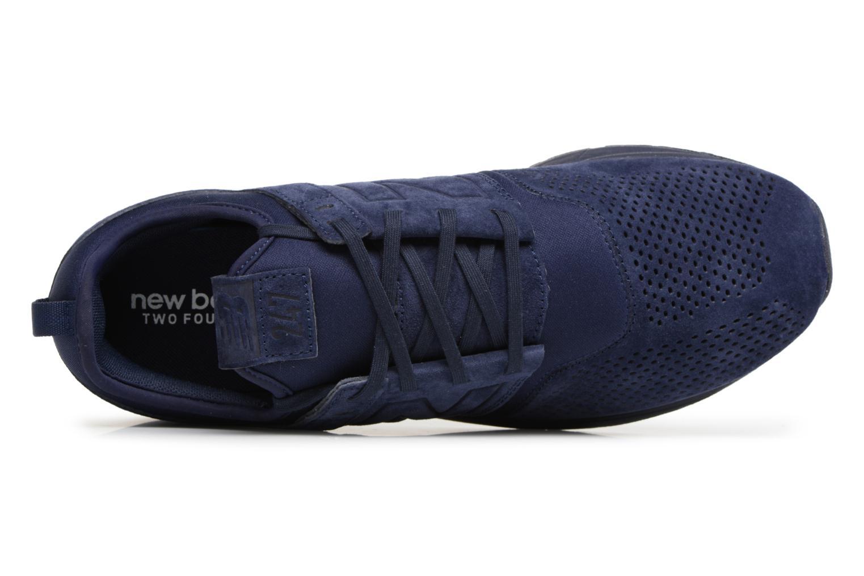 Baskets New Balance MRL247 D Bleu vue gauche