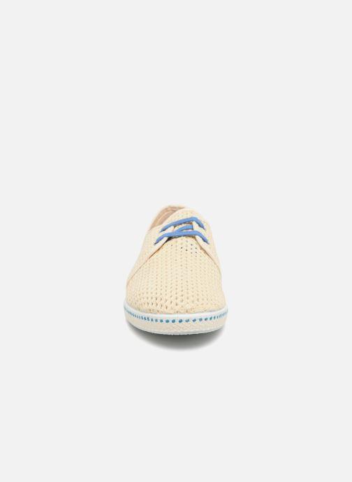 Espadrilles Mr SARENZA 1789 CALA x Mr Sarenza - Riva Bleu vue portées chaussures
