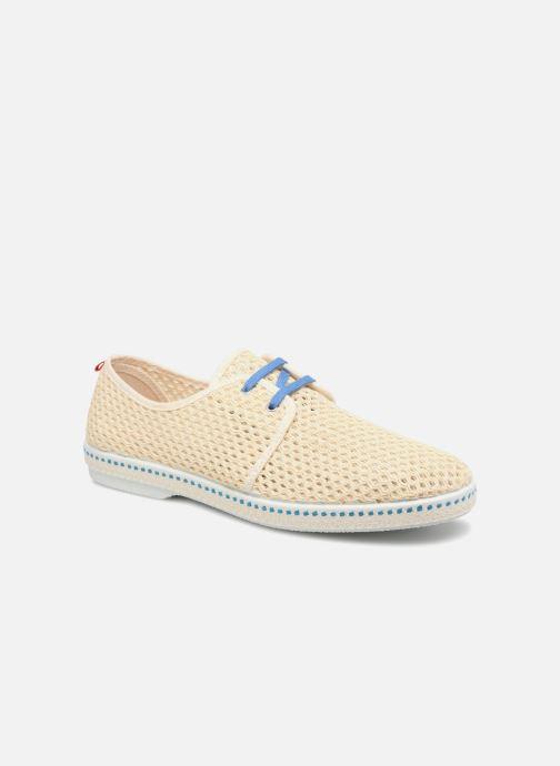 Espadrillos Mr SARENZA 1789 CALA x Mr Sarenza - Riva Blå detaljeret billede af skoene