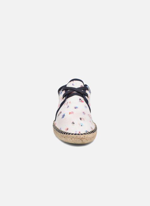 Espadrilles Mr SARENZA 1789 CALA  x Mr Sarenza - Plage Multicolore vue portées chaussures