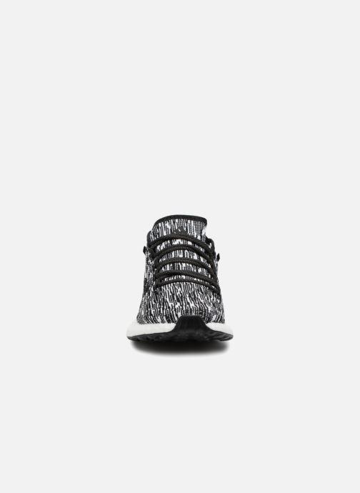 Chaussures de sport adidas performance Pureboost Noir vue portées chaussures