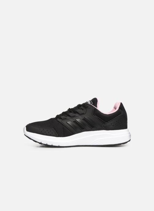 Sportschoenen adidas performance Galaxy 4 Zwart voorkant