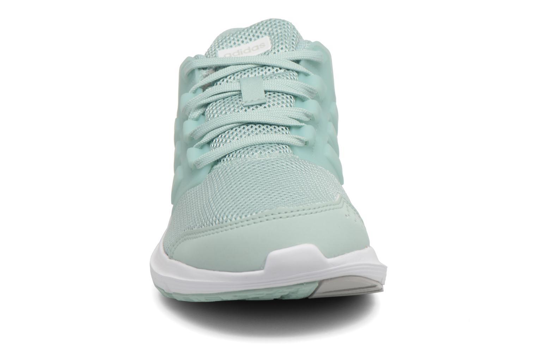 Chaussures de sport Adidas Performance Galaxy 4 Bleu vue portées chaussures