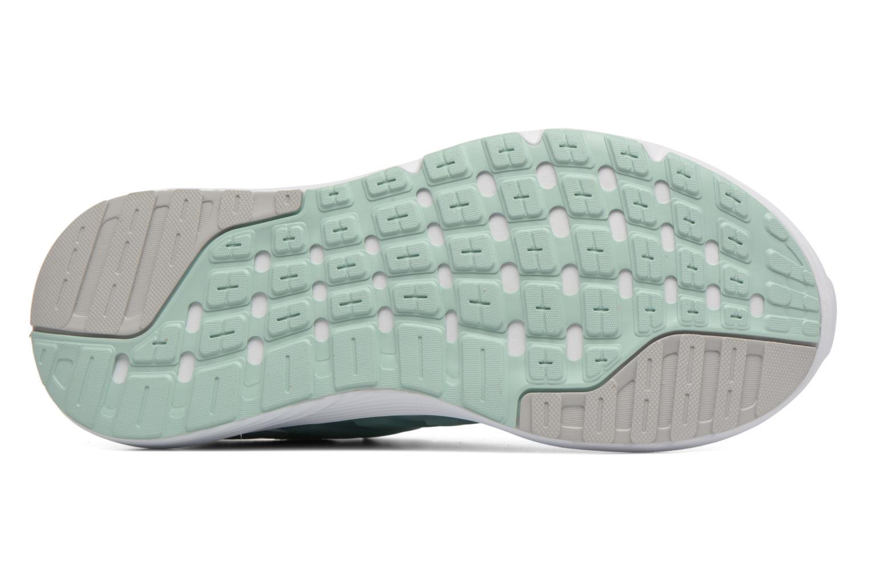 Chaussures de sport Adidas Performance Galaxy 4 Bleu vue haut