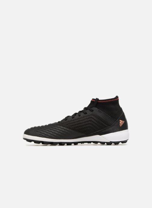 Chaussures de sport adidas performance Predator Tango 18.3 Tf Noir vue face