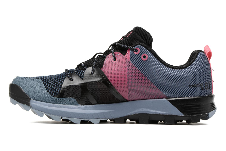 Chaussures de sport Adidas Performance Kanadia 8.1 Tr W Gris vue face