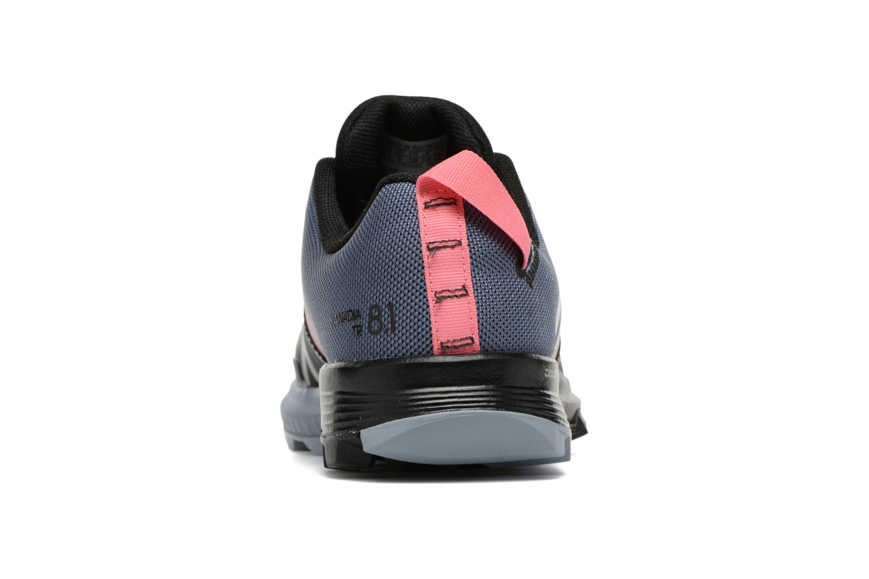 Chaussures de sport Adidas Performance Kanadia 8.1 Tr W Gris vue droite