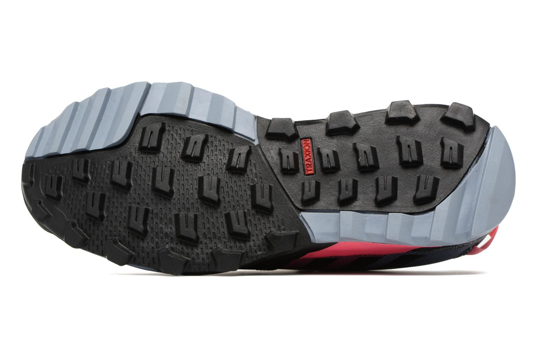 Chaussures de sport Adidas Performance Kanadia 8.1 Tr W Gris vue haut