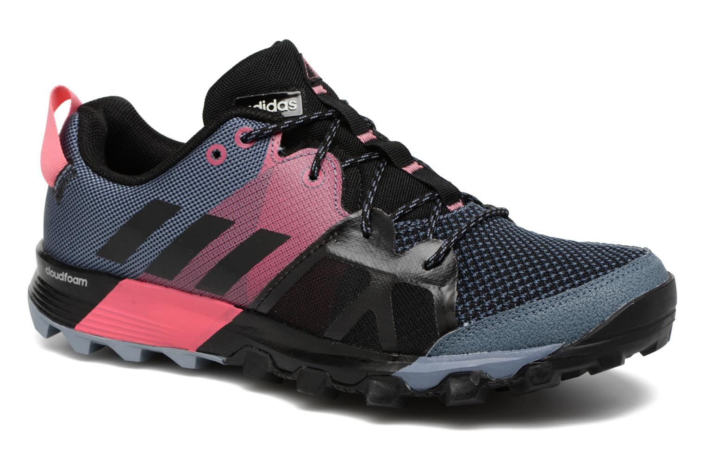 Chaussures de sport Adidas Performance Kanadia 8.1 Tr W Gris vue détail/paire
