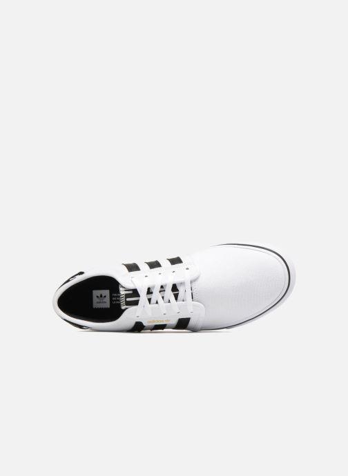 Zapatillas de deporte adidas performance Seeley Blanco vista lateral izquierda