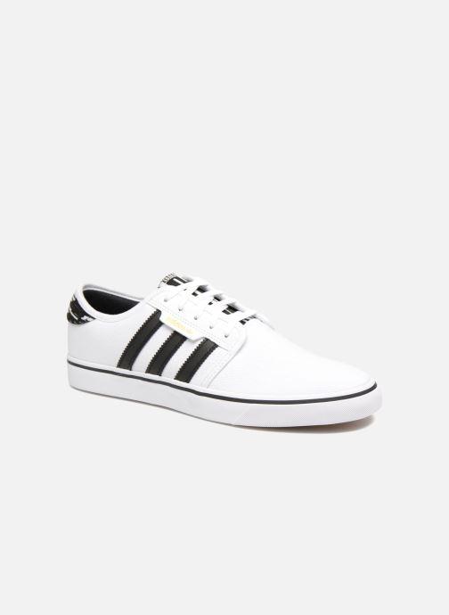 Chaussures de sport adidas performance Seeley Blanc vue détail/paire