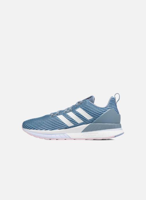Sportschuhe adidas performance Questar Tnd W blau ansicht von vorne